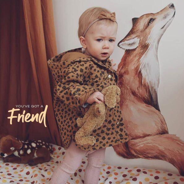 dekornik_naklejka_lisek_mr_fox_friend