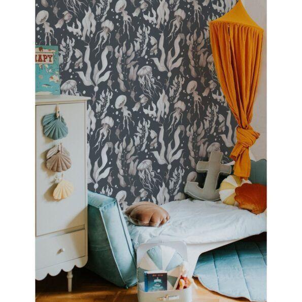 Magic-Of-The-Ocean-Navy-Blue_dekornik_wallpaper2