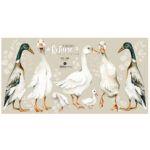 DEKO.N.NNM.086_M_90x47-(white-ducks)